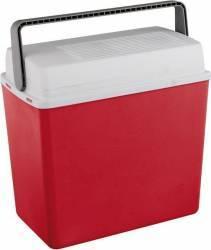 Cutie frigorifica FR11, 22 L, 12 V, Adaptor bricheta auto, Rosu Lazi Frigorifice Auto