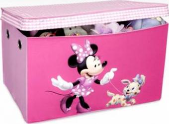 Cutie pentru depozitare jucarii Disney Minnie Mouse Mobila si Depozitare jucarii