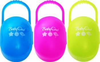 Cutie Suzeta Bebelusi BabyOno 046 Suzete si accesorii