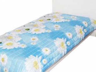 Cuvertura Home Still Matlasata 3D 210X230 CM Albastru Cuverturi & Paturi