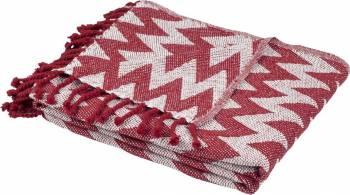 Cuvertura Pled 160x200 cm-Rosu cuverturi  paturi