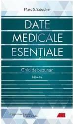 Date medicale esentiale. Ghid de buzunar ed.5 - Marc S. Sabatine Carti