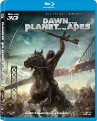 Dawn of the Planet of the Apes BluRay Combo 3D+2D 2014 Filme BluRay