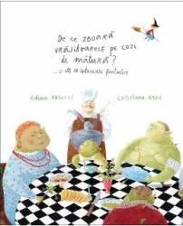 De ce zboara vrajitoarele pe cozi de matura... si alte 10 intrebari fantastice - Adina Rosetti Cristiana Radu