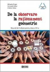 De La Oservare La Rationament Geometric - Mihaela Singer Consuela Voica Cristian Voica Carti