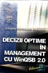 Decizii optime in management cu winqsb 2.0 vol.1 - Ovidiu Aurelian Blajina