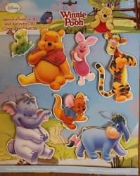 Decoratiune 3D pentru camera copii MyKids Winnie The Pooh SPH-114