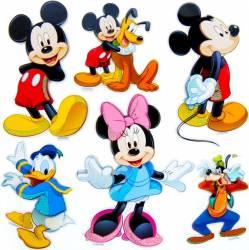Decoratiune Din Burete Pentru Camera Copii MyKids Mickey SPH-111