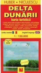 Delta Dunarii - Harta Turistica