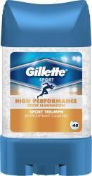 Deodorant Antiperspirant Gillette Clear gel Sport Triumph 70ml Deodorant