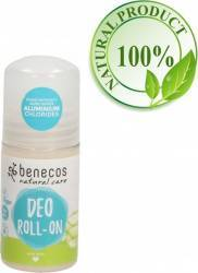 Deodorant Benecos roll-on bio cu Aloe Vera 50 ml Deodorant BIO