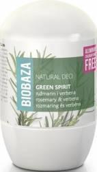 Deodorant Natural Biobaza pentru Femei GREEN SPIRIT verbina si rozmarin 50ml Deodorant