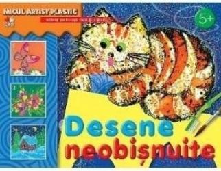 Desene neobisnuite Micul artist plastic 5+ ani