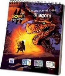 Desenez cartea mea cu dragoni