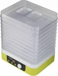 Deshidrator de alimente Concept SO1060 260W 9 tavi patrate Diametru tava 31.3 x 25.5 cm Timer Ventilator Verde Deshidratoare
