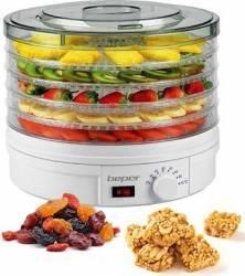 Deshidrator de fructe si legume Beper 90.506 350W 25kg Timer Alb Deshidratoare