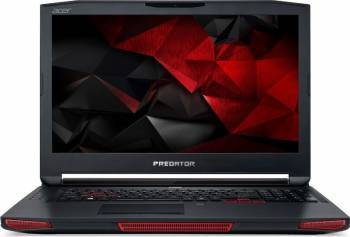Laptop Acer Predator 17X Intel Core Kaby Lake i7-7820HK 1TB HDD+256GB SSD 16GB nVidia GeForce GTX1080 8GB FHD Laptop laptopuri