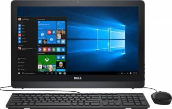 Desktop All-in-One Dell Inspiron 3264 Intel Core Kaby Lake i3-7100U 1TB HDD 4GB FullHD Win10 Calculatoare Desktop