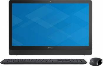 Desktop All-in-One Dell Inspiron 3464 Intel Core Kaby Lake i3-7100U 1TB HDD 4GB FullHD Tastatura+Mouse Calculatoare Desktop