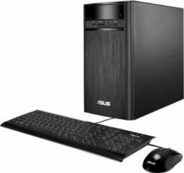 Desktop Asus K31CD Intel Core Kaby Lake i5-7400 1TB HDD 4GB DDR4 nVidia GeForce GT730 2GB Free DOS Negru calculatoare desktop