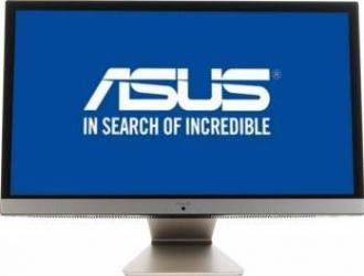 Desktop Asus Vivo V241ICGK All-in-One Intel Core i5-7200U 1TB 8GB nVidia GeForce 930MX 2GB Black Gold Calculatoare Desktop