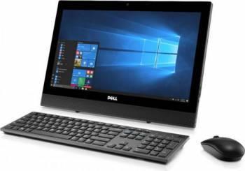 Desktop All-in-One Dell OptiPlex 3050 Intel Core Kaby Lake i3-7100T 500GB 7200RPM HDD 4GB 2400MHz DDR4 Win10 Pro Calculatoare Desktop