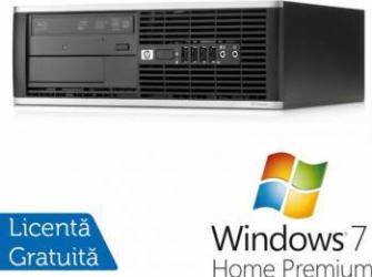 Desktop HP 8000 Elite Intel Core 2 Duo E8500 4GB 320GB Win 7 Home Premium Calculatoare Refurbished