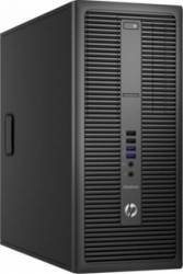 Desktop HP EliteDesk 800 G2 TWR Intel Core Skylake i3-6100 500GB HDD 4GB DDR4 DVDRW Win10 Pro Calculatoare Desktop