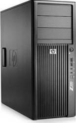 Desktop HP Workstation Z200 XEON X3460 500GB 4GB DVDRW Calculatoare Refurbished