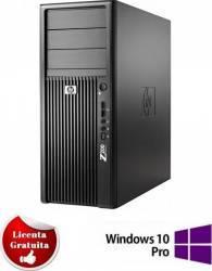 Desktop HP Workstation Z200 Xeon X3470 2 x 160GB 4GB DVDRW Win10 Pro Calculatoare Refurbished