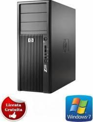 Desktop HP Workstation Z200 Xeon X3470 2 x 250GB 4GB Win 7 Pro Calculatoare Refurbished