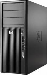 Desktop HP Workstation Z200 Xeon X3470 2 x 250GB 8GB Win 7 Pro Calculatoare Refurbished