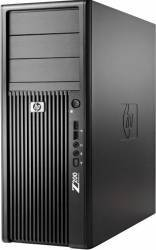 Desktop HP Workstation Z200 XEON X3470 2x250GB 8GB DVDRW Win10 Pro