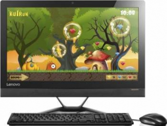 Desktop Lenovo IdeaCentre 300-23ISU All-in-One Intel Core i3-6006U 1TB 4GB nVidia GeForce GT920 2GB Touch Calculatoare Desktop