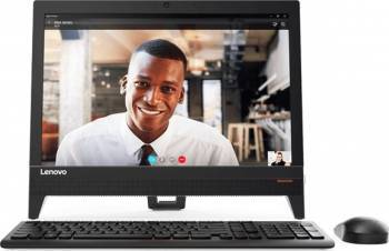 Desktop All-in-One Lenovo IdeaCentre 310-20IAP Intel Pentium Apollo Lake J4205 1TB 4GB DOS Calculatoare Desktop