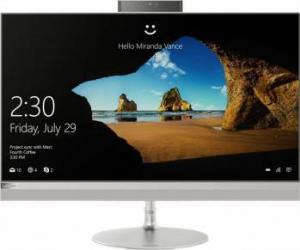 Desktop All-in-One Lenovo IdeaCentre 520-27IKL Intel Core Kaby Lake i5-7400T 1TB HDD+256GB SSD 8GB Win10 Silver Calculatoare Desktop