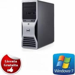 Desktop Dell Precision T7500 Dual Core E5502 250GB 4GB ATI X1300 256MB Win 7 Pro Calculatoare Refurbished