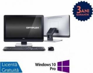 Desktop Refurbished Dell 9010 AiO i5-3570s 240GB 8GB Win 10 Pro Calculatoare Refurbished