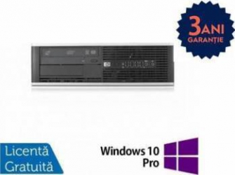 Desktop Refurbished HP Compaq 6200 Pro SFF i3-2100 4GB 250GB Win 10 Pro Calculatoare Refurbished