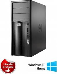 Desktop Refurbished Hp Workstation Z200 XEON X3460 (i7-860) 2.8Ghz 4Gb DDR3 500GB (2X250GB) HDD Windows 10 Home Calculatoare Refurbished