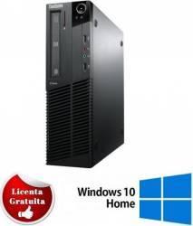 Desktop Refurbished Lenovo ThinkCentre M91p i5-2400 4GB 500GB DVD-RW Win 10 Home Calculatoare Refurbished