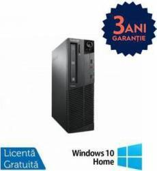 Desktop Refurbished Lenovo Thinkcentre M93p i5-4570 500GB 4GB DVD-ROM Win 10 Home Calculatoare Refurbished