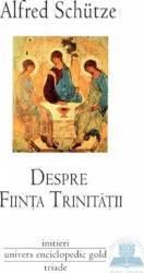 Despre fiinta trinitatii - Alfred Schutze