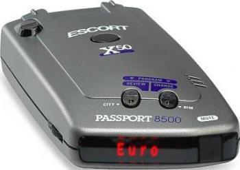 Detector Radar Escort Passport 8500 X50 Euro Alarme auto si Senzori de parcare