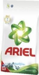 Detergent automat Ariel Mountain Spring 6kg Detergent si balsam rufe