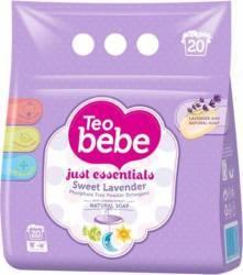 Detergent Automat Pudra Teo Bebe Levantica 1.5 Kg Detergent si balsam rufe
