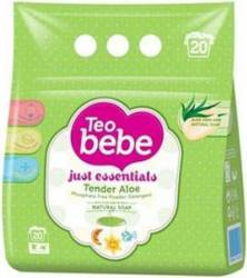 Detergent Automat Teo Bebe Aloe Vera 1.5 Kg Detergent si balsam rufe