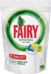Detergent de Vase Capsule Fairy All In One 60buc Curatenie Bucatarie