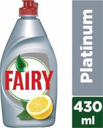 Detergent de Vase Fairy Platinum Lemon-Lime 430ml Curatenie Bucatarie