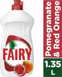 Detergent de vase Fairy Rodii si Portocale Rosii 1.35L Curatenie Bucatarie